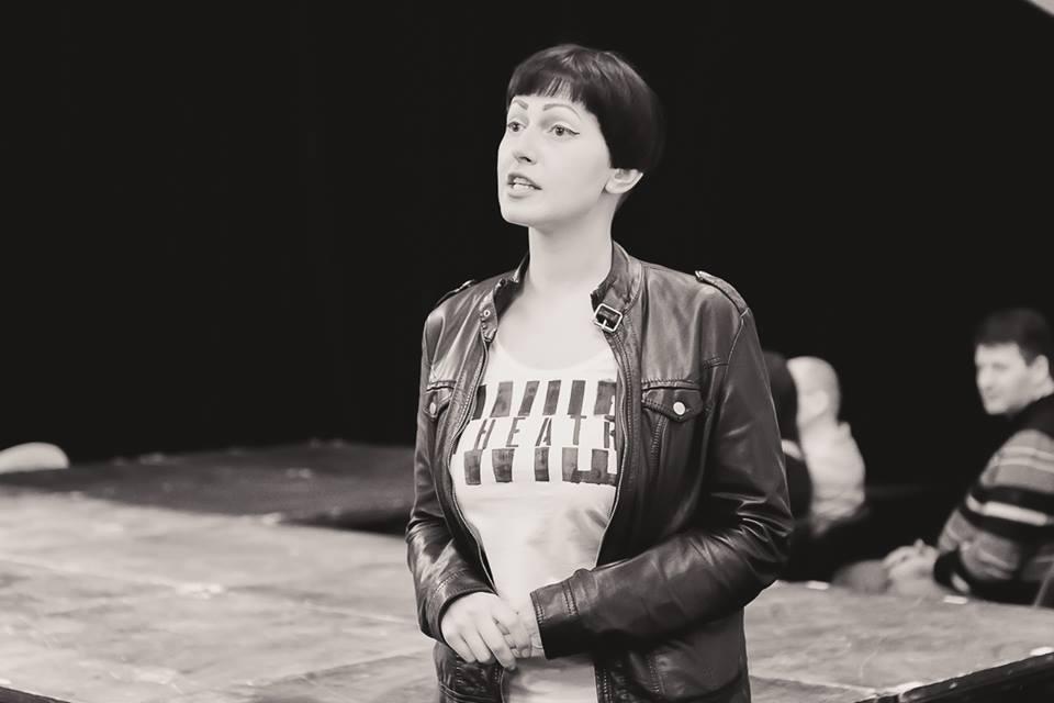 Засновниця і арт–директорка Дикого театру – Ярослава Кравченко.