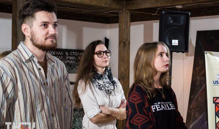 Актори театру «Запорізька нова драма». Молодий незалежний театр