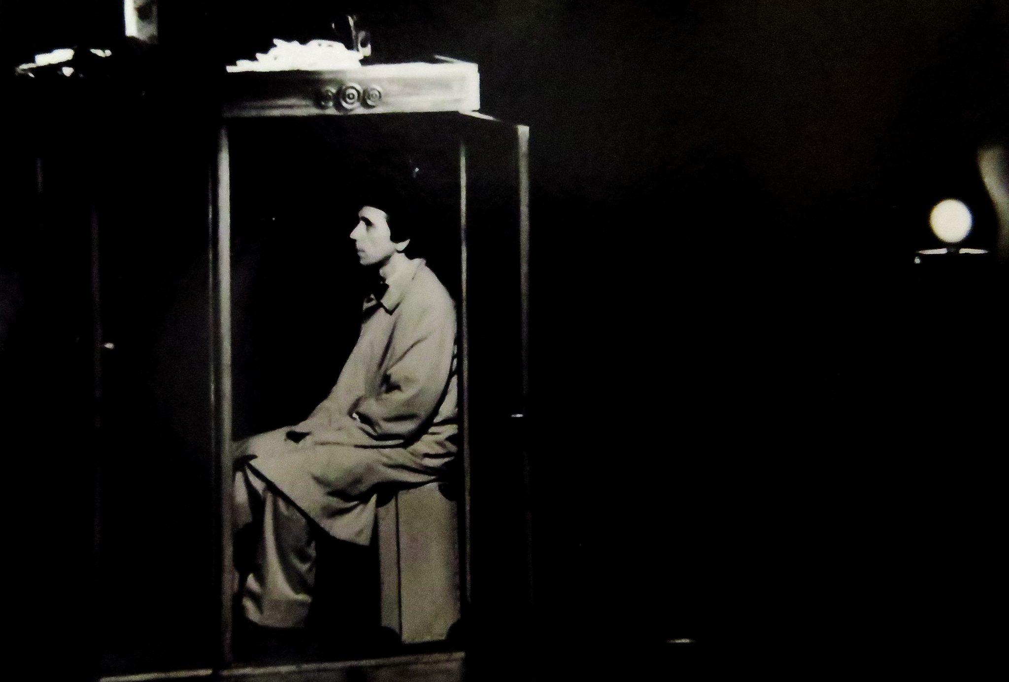 Фото з архіву. Вистава «Четвертий стілець» (реж. Віктор Попов). 1991 р.